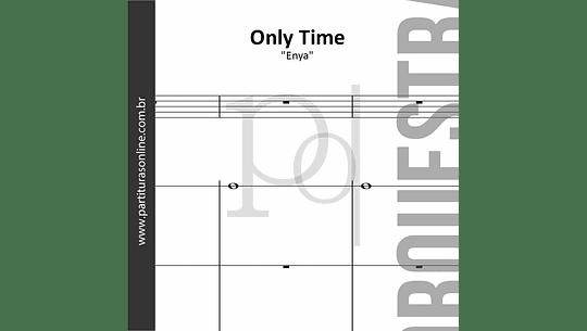 Only Time | arranjo para Orquestra