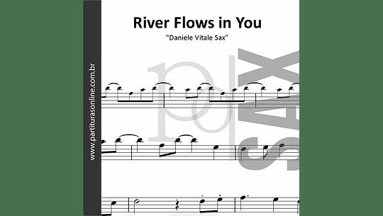 River Flows in You on Sax | para Saxofone Tenor