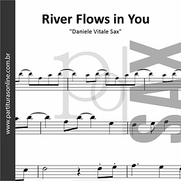 River Flows in You on Sax | para Saxofone Tenor