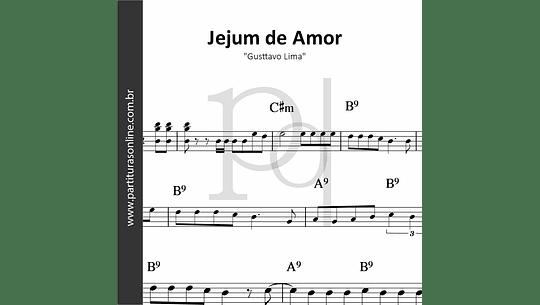 Jejum de Amor | Gusttavo Lima