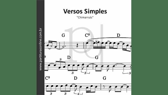 Versos Simples | Chimarruts