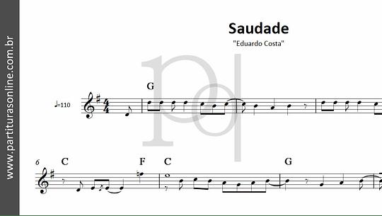 Saudade   Eduardo Costa