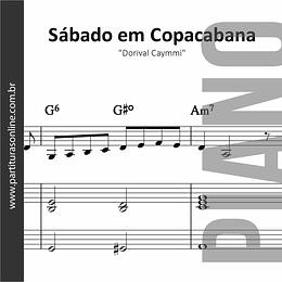 Sábado em Copacabana | para Piano
