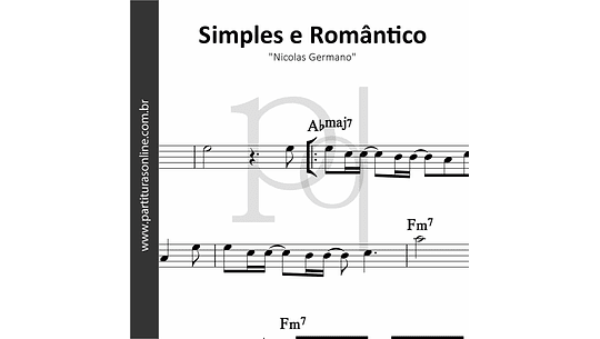 Simples e Romântico | Nicolas Germano