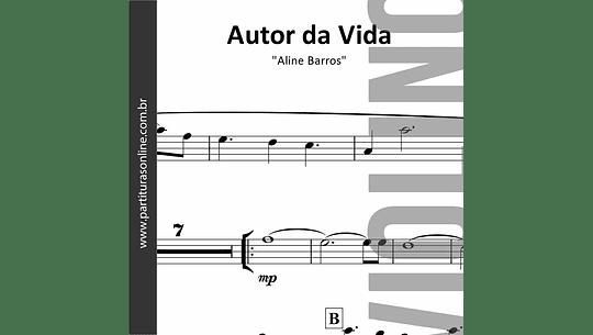 Autor da Vida | arranjo para Violino