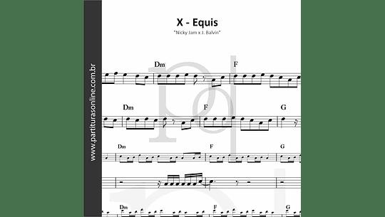 X - Equis | Nicky Jam x J. Balvin