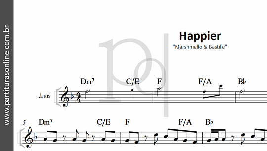 Happier | Marshmello & Bastille