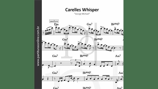 Carelles Whisper   George Michael