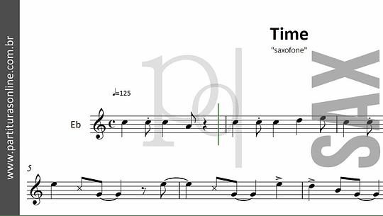Time | Jimmy Sax