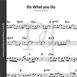 Do What you Do | Jermaine Jackson