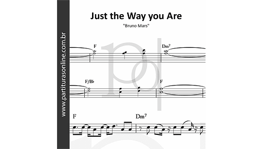Just the Way you Are | Bruno Mars