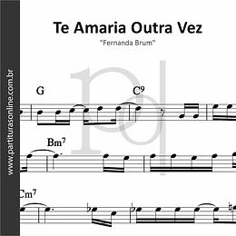 Te Amaria Outra Vez   Fernanda Brum