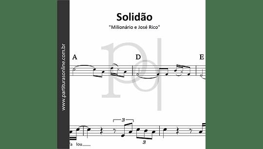 Solidão | Milionário e José Rico