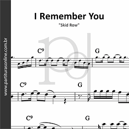 I Remember You | Skid Row