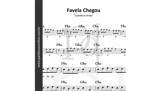 Favela Chegou | Ludmilla e Anitta
