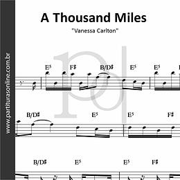 A Thousand Miles | Vanessa Carlton