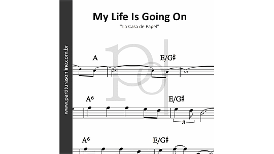 My Life Is Going On | Cecilia Krull  (La Casa de Papel)