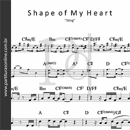 Shape of My Heart   Sting