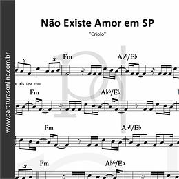 Não Existe Amor em SP | Criolo