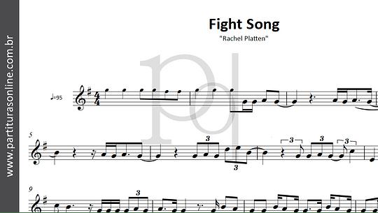 Fight Song | Rachel Platten