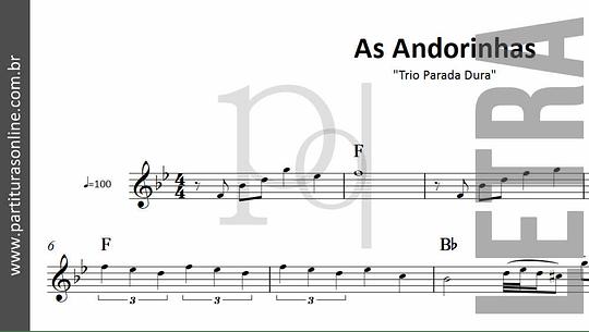 As Andorinhas | Trio Parada Dura