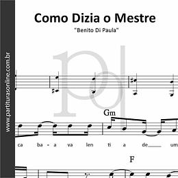 Como Dizia o Mestre | Benito Di Paula