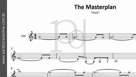 The Masterplan | Oasis