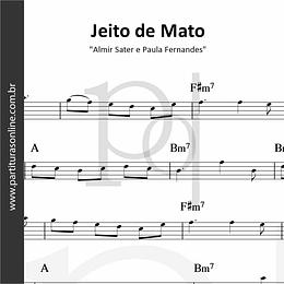 Jeito de Mato | Almir Sater e Paula Fernandes