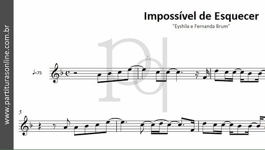 Impossível de Esquecer | Eyshila e Fernanda Brum