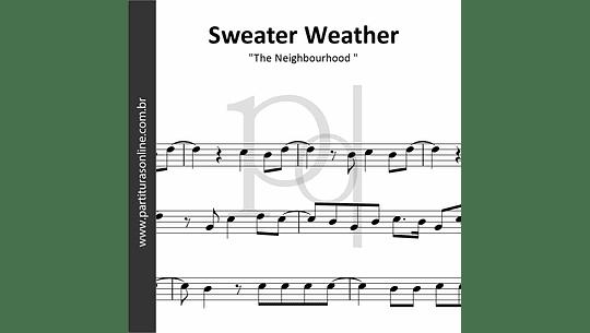 Sweater Weather | The Neighbourhood