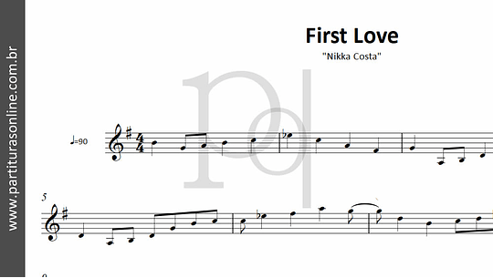 First Love | Nikka Costa