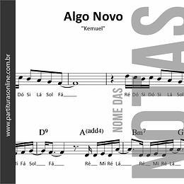 Algo Novo | Kemuel