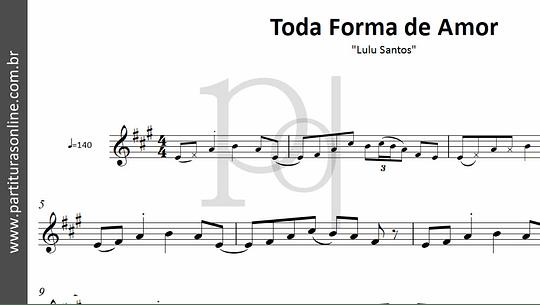 Toda Forma de Amor | Lulu Santos