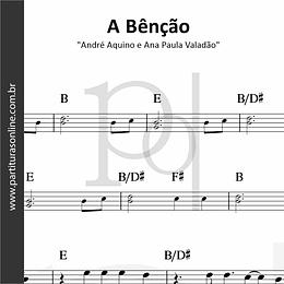 A Bênção | André Aquino e Ana Paula Valadão