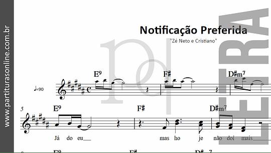 Notificação Preferida | Zé Neto e Cristiano
