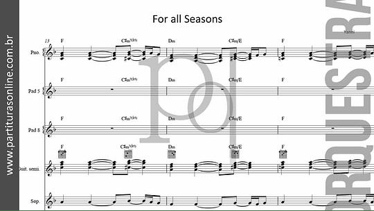 For all Seasons | Yanni