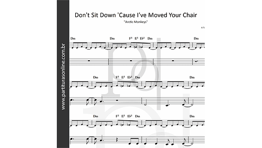 Don't Sit Down 'Cause I've Moved Your Chair | Arctic Monkeys