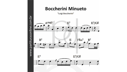 Boccherini Minueto   Luigi Boccherini