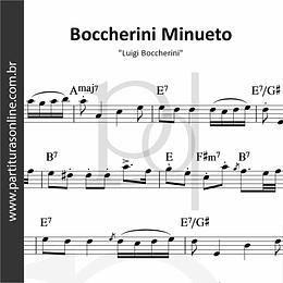Boccherini Minueto | Luigi Boccherini