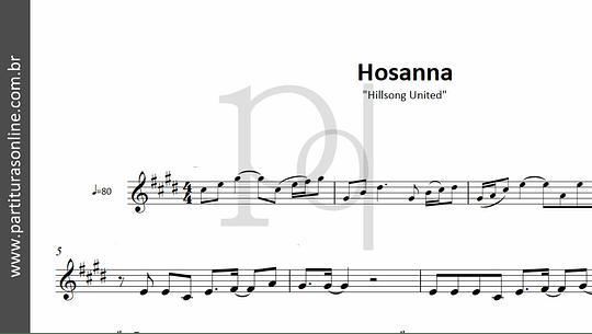 Hosanna | Hillsong United