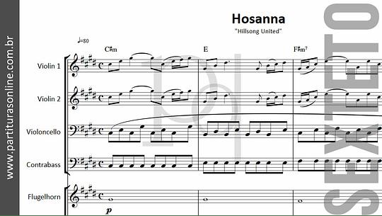 Hosanna   para Sexteto
