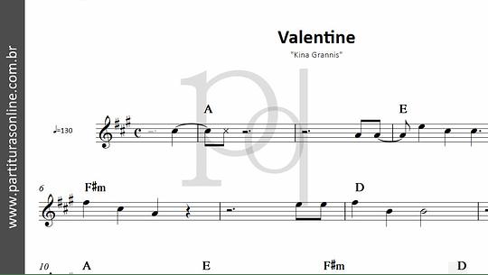 Valentine | Kina Grannis