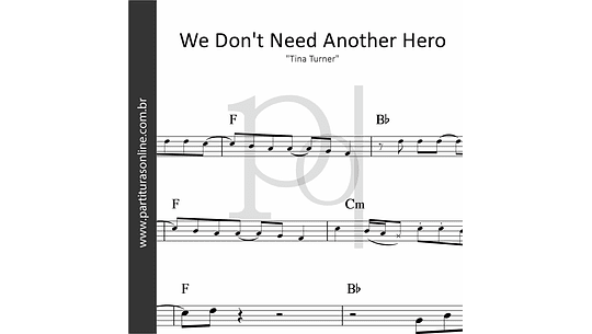 We Don't Need Another Hero | Tina Turner