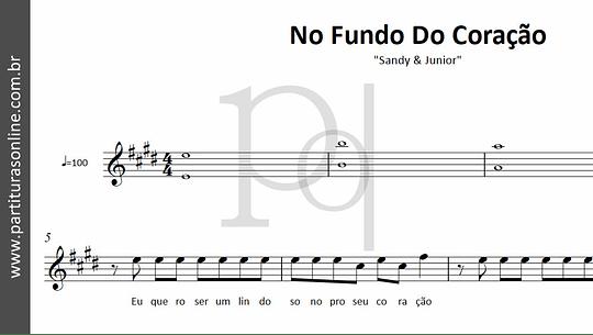No Fundo Do Coração | Sandy & Junior