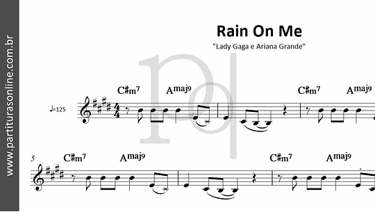 Rain On Me | Lady Gaga e Ariana Grande