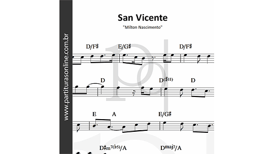 San Vicente | Milton Nascimento