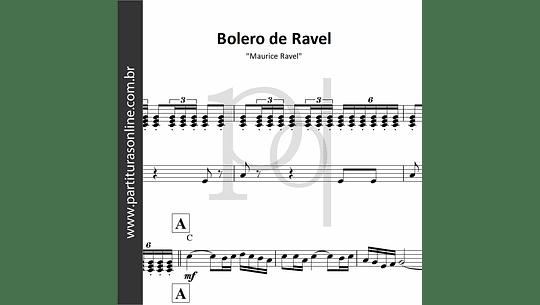 Bolero de Ravel  - Tema