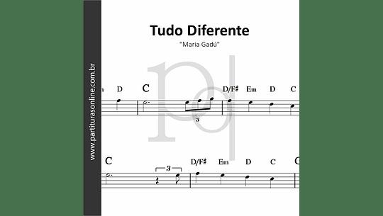 Tudo Diferente | Maria Gadú