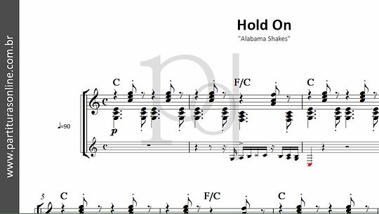 Hold On   Alabama Shakes