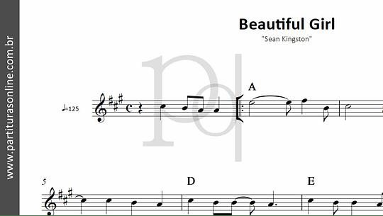 Beautiful Girl | Sean Kingston